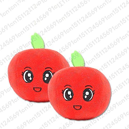 CHOUWUED 1Pc Fruit Vegetable Chicken Drum Bone Squeak Toy Fo