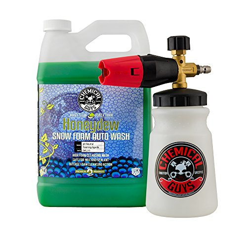 Chemical Guys EQP330 TORQ Big Mouth Cannon & Honeydew Snow Foam Auto Wash, 128. Fluid_Ounces