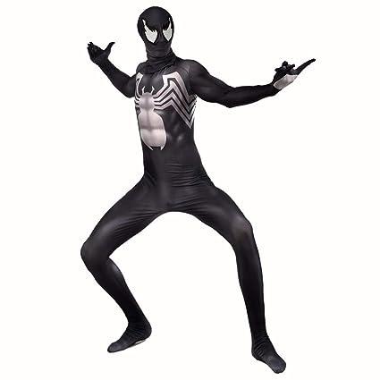 AMIMES Spiderman Venom simbionte Adultos Traje de los ...