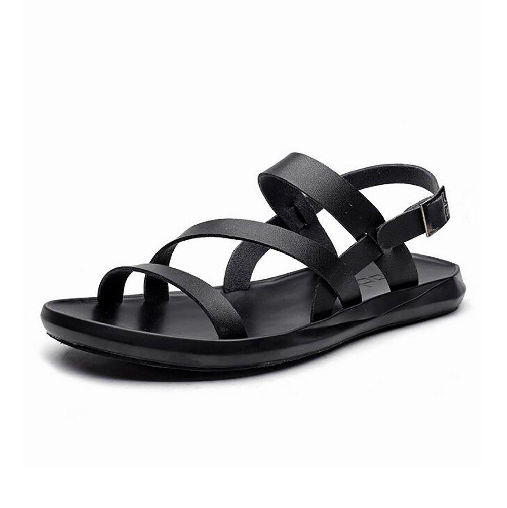 SHANGXIAN Summer Men Beach Sandals Breathable Non-Slip Casual Fashion Outdoor Sports Hiking Slipper,38
