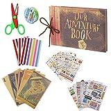 Our Adventure Book Scrapbook Photo Album DIY Family Anniversary Scrapbook Wonderful Gift