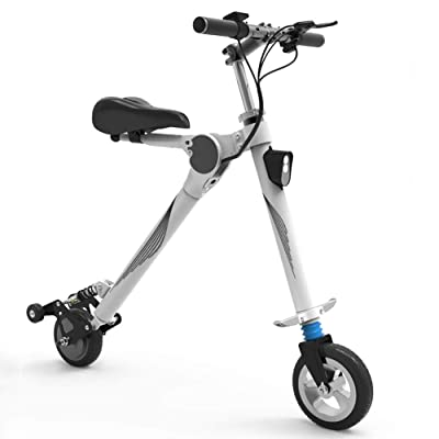"Electric Scooter, Aluminum Alloy Body, Fast Charging Speed, Speed Electric Scooter for Adults with 8"" Tires, Step Portable Folding : Sports & Outdoors"