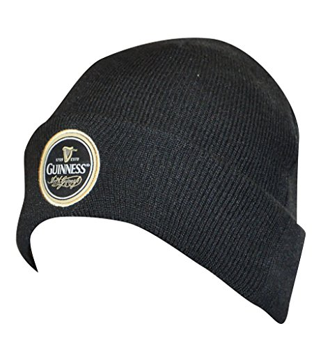 Guinness Black Label Beanie - Embroidered Knit Winter Hat ()