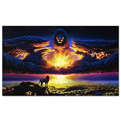 cowspring Anime Posters The Lion King 2019 Art Wall Decor Paintings Wall Art Home Decor Decoration 24x 16 inches