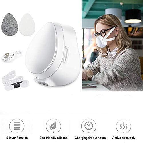 LABYSJ Protector De Cara Eléctrico De Carga USB/Aislamiento De ...