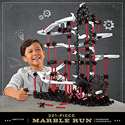 FAO Schwarz 321-Piece Marble Run Construction and Building Kit for Kids: Toys & Games