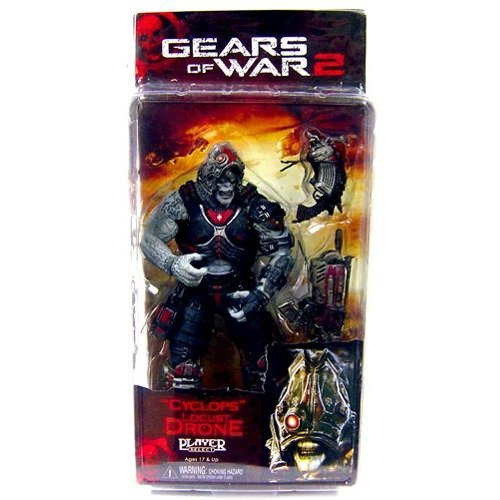 (Neca - Gears of War série 3 figurine Locust Drone Cyclops 18 cm )