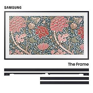 "Samsung QN43LS03RA 43"" The Frame 4K Ultra High Definition Smart QLED TV with a Samsung VG-SCFN43BM Customizable 43"" Bezel for The Frame TV (2019)"