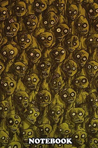 Notebook: Group Of Zombie Coming Your Way , Journal for Writing, College Ruled Size 6