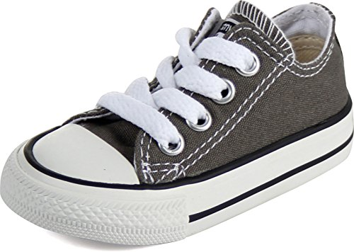 Converse Chuck Taylor All Star Lo Top Charcoal 7J794 3 M US