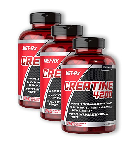 MET-Rx Creatine 4200 240 (Pack of 3)