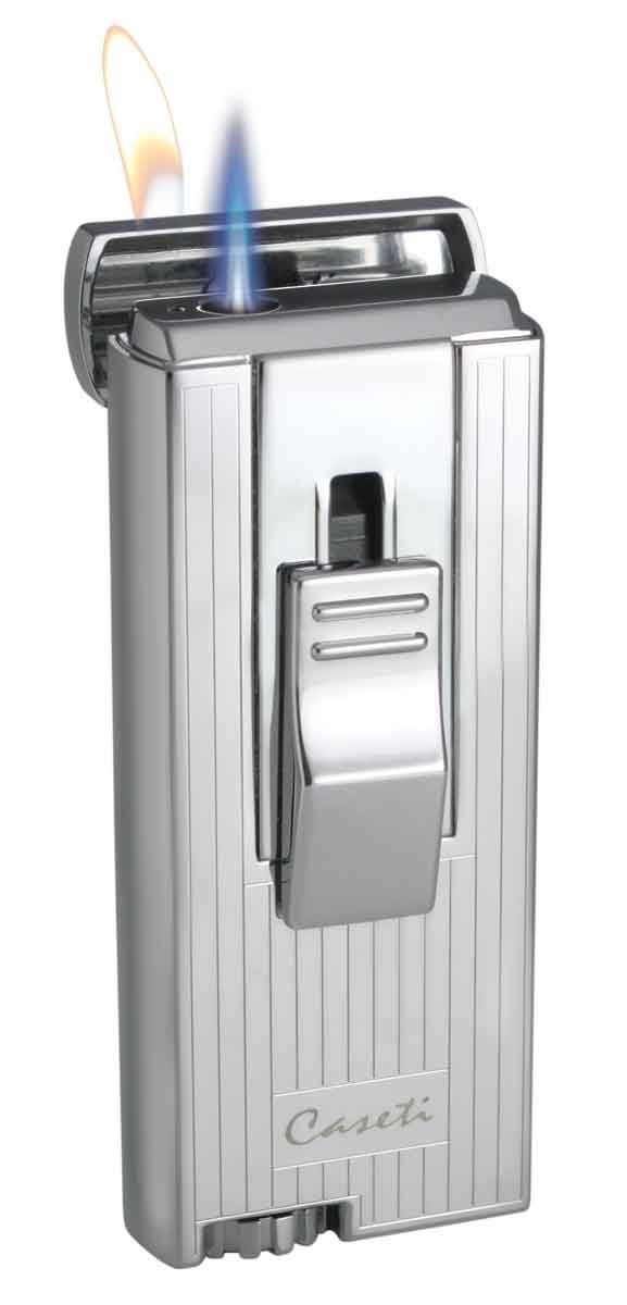 Visol Caseti Sunderland Chrome Plated Dual-Flame Lighter