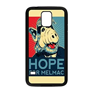 Hope For Melmac Funny Samsung Galaxy S5 Cell Phone Case Black yyfabc-366889