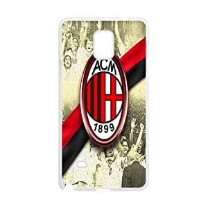 Samsung Galaxy Note 4 Custom Cell Phone Case AC Milan FC Logo Case Cover 7WFF33959