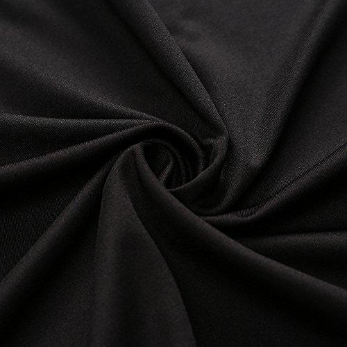 Estampada Blusa Mujer Sin Top Transpirable Ropa 6 Con Estampado V Camisetas Cuello Mangas De Chaleco Camis Bazhahei Vendaje Confort En Black Y Esmalte ZpSFWwq