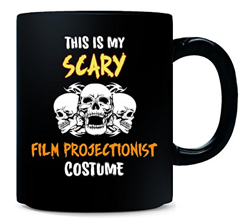 This Is My Scary Film Projectionist Costume Halloween Gift - Mug (Halloween Film Costume Ideas)