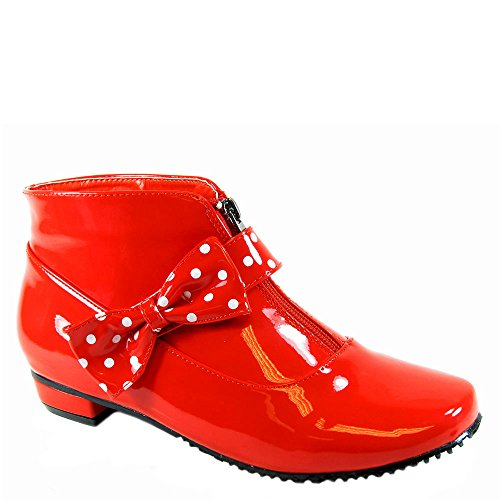 Baken Schoenen Dames Regenboog, Rode Polyurethaan, Us 6 M