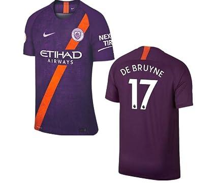 brand new bc3f8 d1004 Amazon.com : ProApparels De Bruyne Kids Jersey Manchester ...