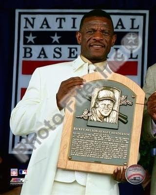 Rickey Henderson 2009 MLB Hall of Fame 8x10 Photo