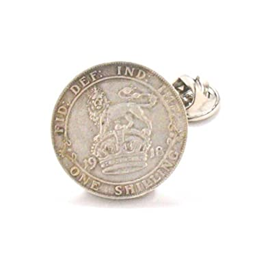 7dcfd0380c52 British Shilling Tie Tack Lapel Pin Suit Flag England Silver Lion Queen  Britain UK Army Military Union Jack: Amazon.co.uk: Jewellery