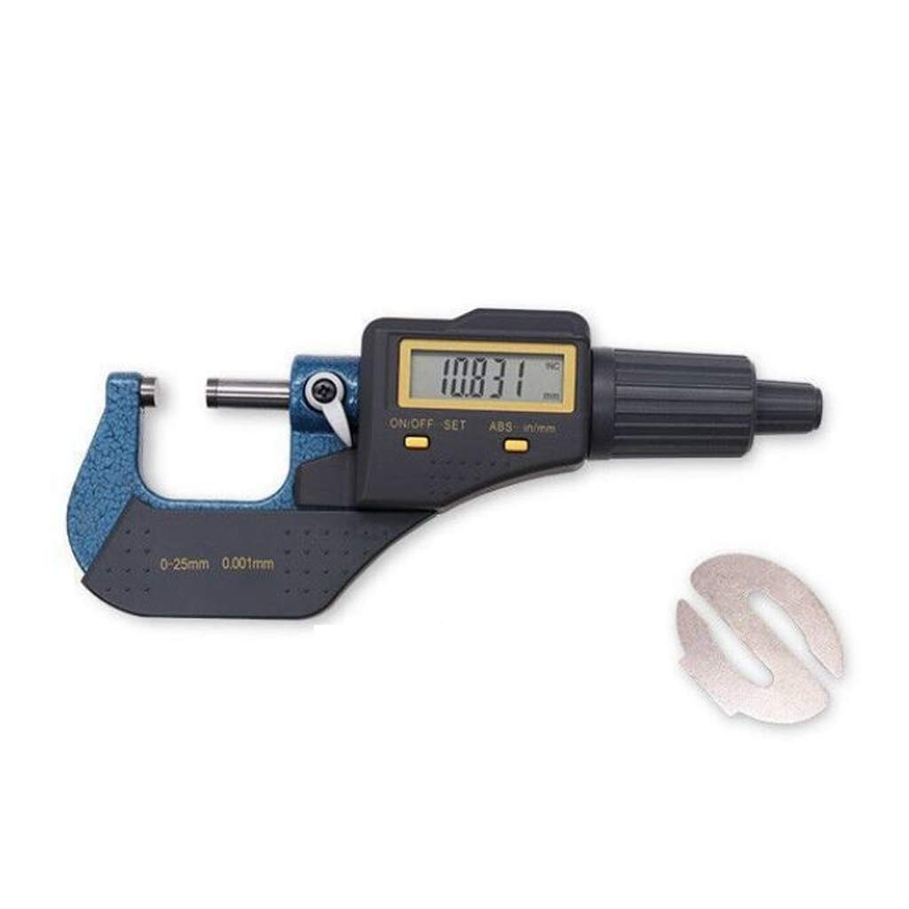 Fityle Digital 0-25mm Range Metric External/Outside Micrometer Caliper Measuring by Fityle (Image #8)
