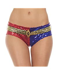 Suicide Squad Harley Quinn DELUXE Sequins Panty