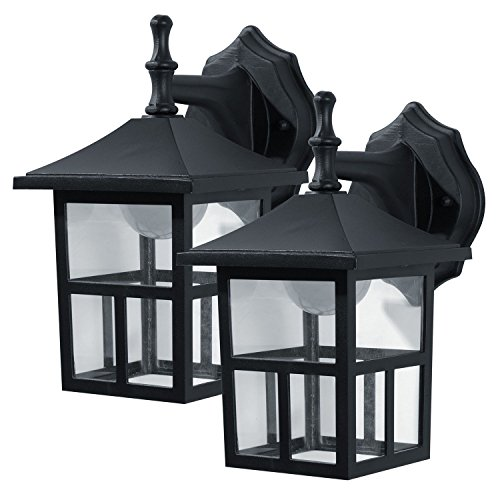 Honeywell Outdoor Wall Mount Lantern pack