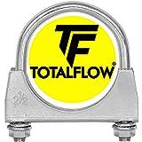 "TOTALFLOW 2.5"" TF-UZ250 Zinc Plated Saddle U-Bolt"