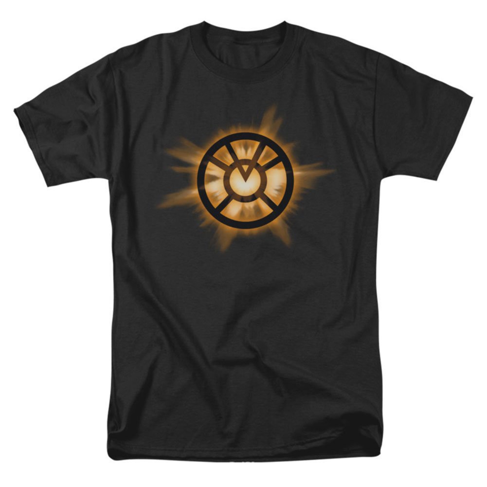 Green Lantern Orange Glow T Shirt L 2142