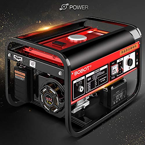 BOBOT Watt 120V/240V Dual Fuel Portable Generator with Wheel Kit and Electric Start-CARB Compliant Uncategorized
