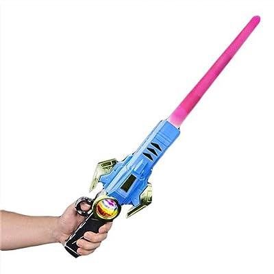 """28.5"""" LIGHT-UP MORPHING SWORD BLASTER: Toys & Games"""