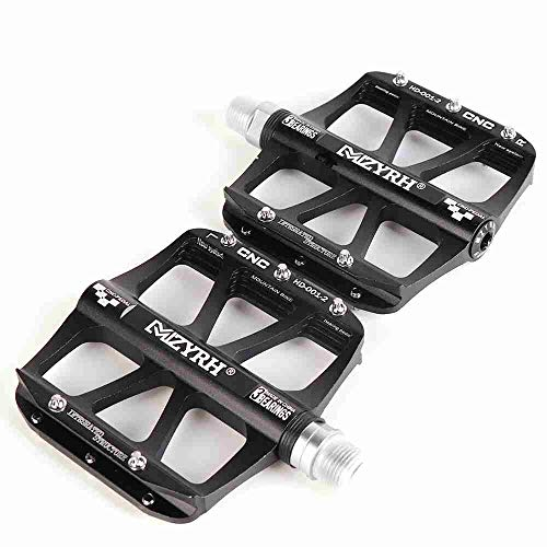 (HEALTHLL MTB BMX Pedal Bike Mountain Bike Pedal Bicycle Pedals Ultra Axle Sealed Bearing Ultralight Antiskid Racing Pedals 14Mm Style 2)