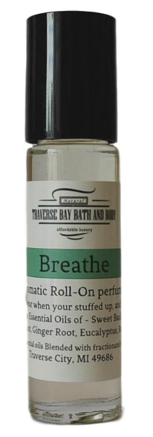 Breathe Easy Synergy Blend, blended with 100% pure Essential Oils. (perfume oil)