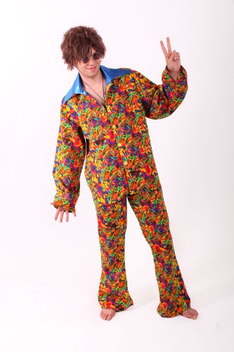 Hippie Anzug Fur Herren Gr Xl Hippiekostum 60er 70er Jahre Outfit