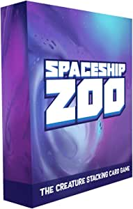Spaceship Zoo : A Hilarious Creature Stacking Card Game for Kids and Family. Perfect for Party Games and Board Game Nights. Wonderfully Illustrated Monsters and Aliens