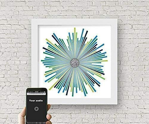 Amazon Com Personalized Any Song Qr Code Soundwave Art Custom