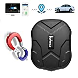 TKSTAR GPS Car Tracker, Waterproof Vehicles Tracking Device Long Battery 3 Months Online Moving Tracking Canada Locator for Cars Truck Boats Fleet TK905