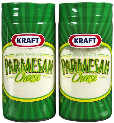 Kraft Grated Parmesan Cheese - 24 Pack by Kraft