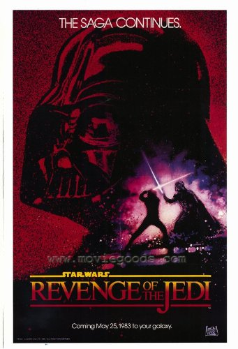 Revenge of the Jedi Poster Movie 27x40 - Revenge Of The Jedi