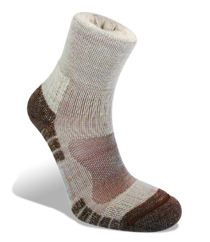 Bridgedale Men's Trail Light Socks, Chino, Large