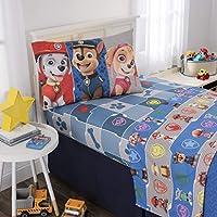 Nickelodeon Paw Patrol Kids Bedding Soft Microfiber Sheet...