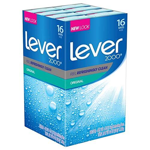 Lever 2000 Bar Soap, Original, 4 oz, 16 bar