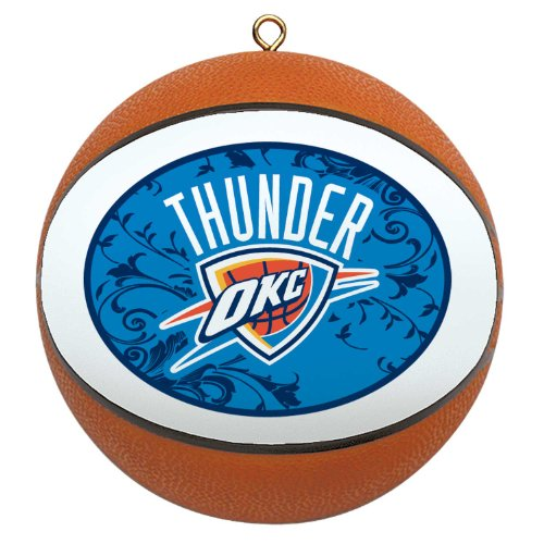 NBA Oklahoma City Thunder Mini Replica Basketball Ornament