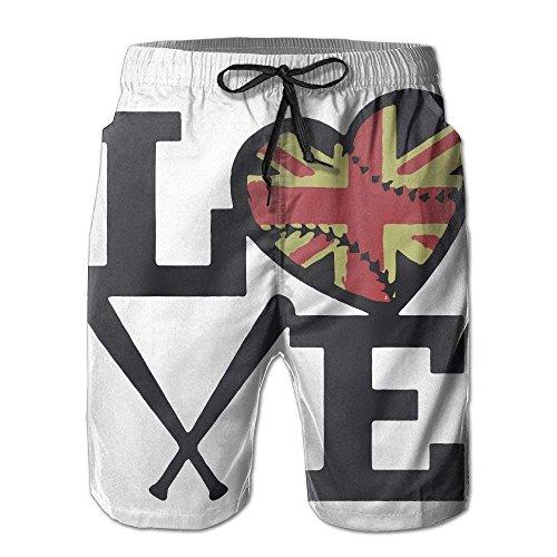 Summer shop F State Board USA Tee Flag Pockets Baseball shirt's Shorts Shorts Michigan with Men's Casual 5q58Z