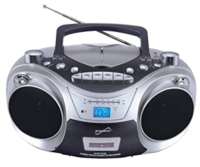 Supersonic SC709CD CD Boombox with MP3 and Cassete Player from SUPERSONIC INC.