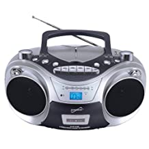 Supersonic Supersonic Sc-709 Portable Mp3/cd Player With Cassette Recorder, Am/fm Radio & Usb Input