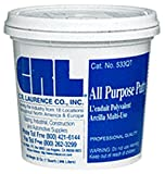 CRL White Quart All Purpose Putty by CR Laurence