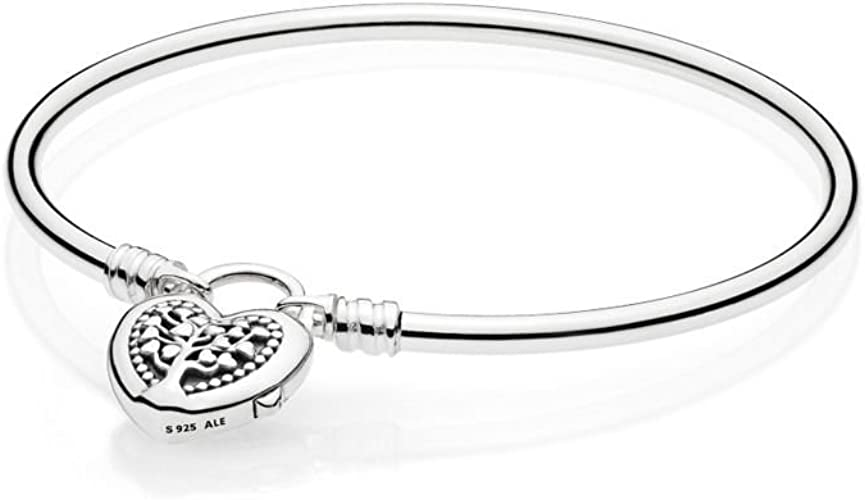 Pandora – Bracelet Femme – Cœur 597101 fleurie