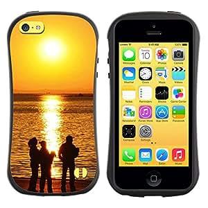 Paccase / Suave TPU GEL Caso Carcasa de Protección Funda para - Sunset Beautiful Nature 118 - Apple Iphone 5C