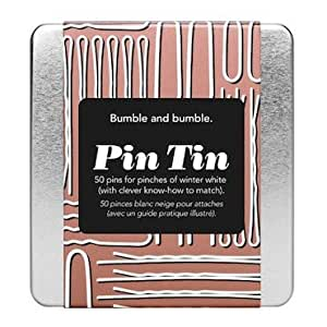 Bumble and Bumble Pin Tin 50 Pins for Pinches of Winter White (With Clever Know-how to Match)